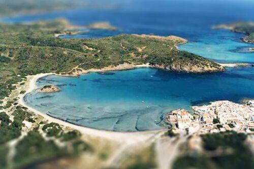 5 FKK-Strände auf Menorca - Cala Calderer - Es Grau