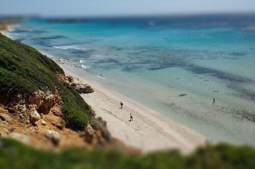 5 FKK-Strände auf Menorca - Playa Binigaus