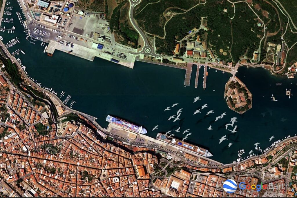 Die Häfen von Menorca - Hafen von Mahon