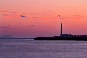 Lighthouse of the Isla del Aire, Menorca