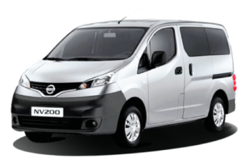 Rent Nissan NV200 7 Plazas